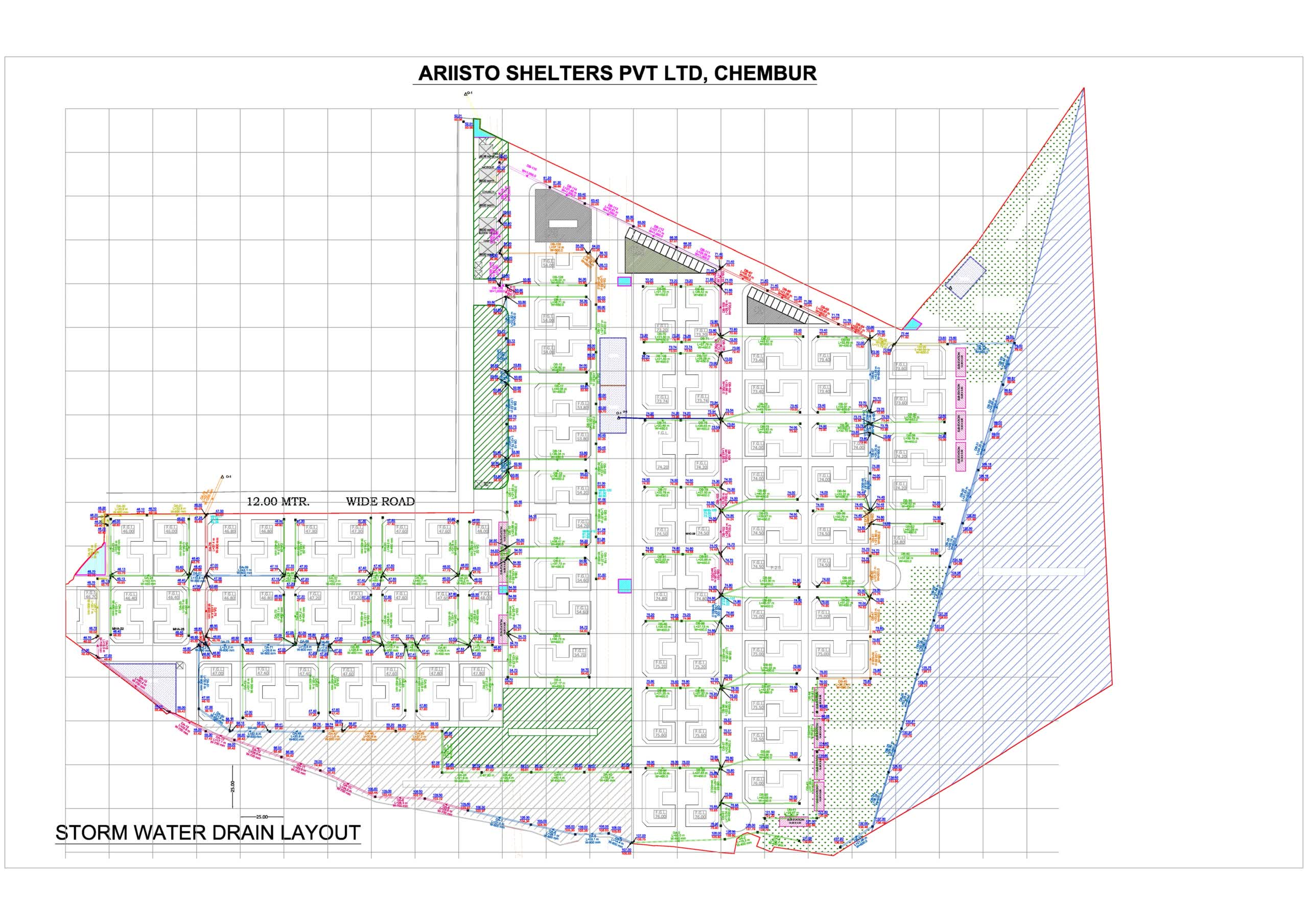 Storm Water Drain Chembur - Arristo Group - Sthapati India